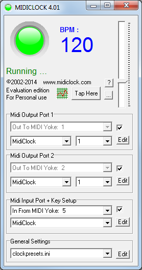 midiclock com - midi software for musicians and technicians